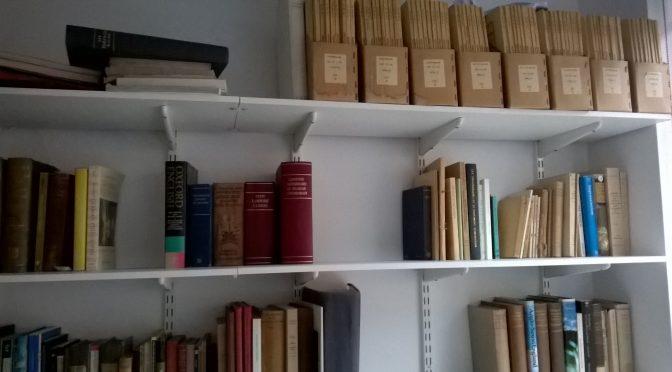 #Bibliotecas (V): sobre libros 'heredados' y literatura medieval francesa